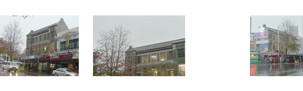 sunday school Union Building auckland architecture
