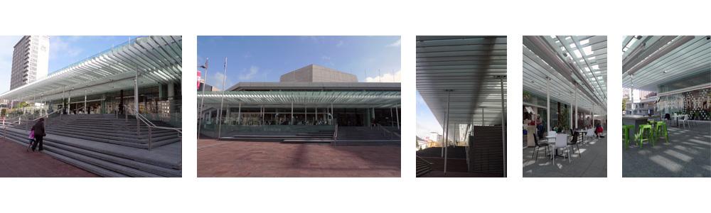 Aotea Centre Cafe auckland architecture nz
