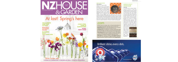 NZ House and Garden October 2011