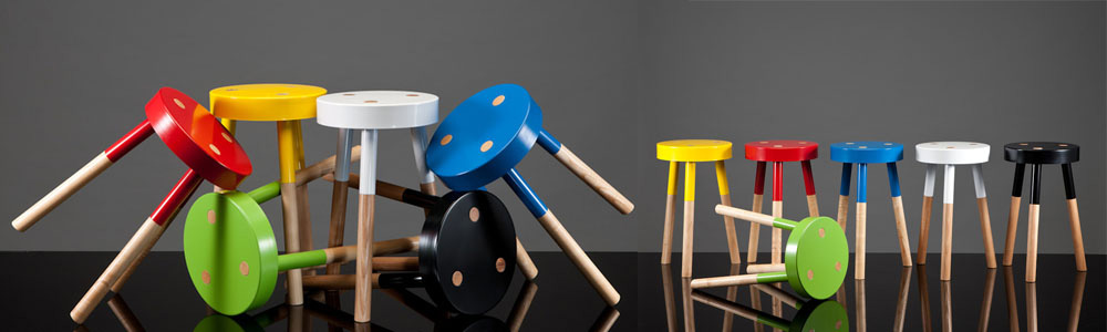 Tim Webber Y Stool NZ designer design