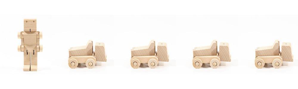 Iko Iko wooden transformer truck