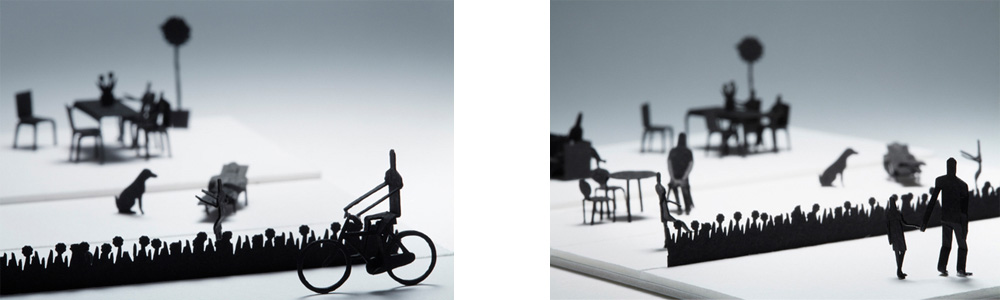 Terada Mokei 1/100 set of accessories scale people
