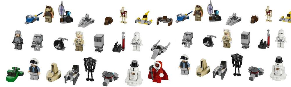 Star Wars Lego advent calendar design