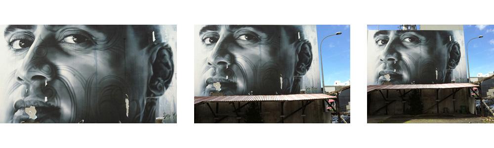 Sofia Minson Teed street mural NZ artist Auckland