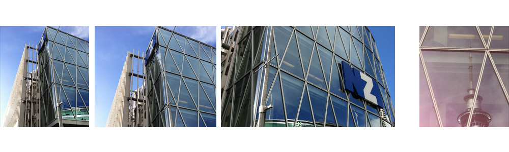 Viaduct Auckland Jasmax architecture NZI building facade