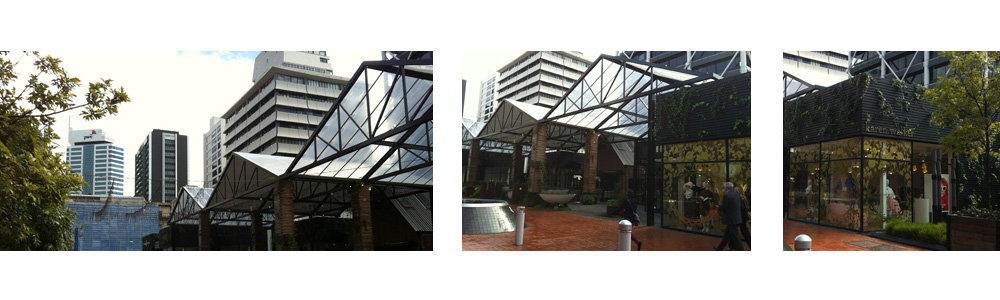 Britomart Pavilions Architectural design