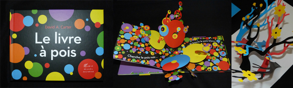 Kandinsky Le livre à pois David Carter pop-up book designer