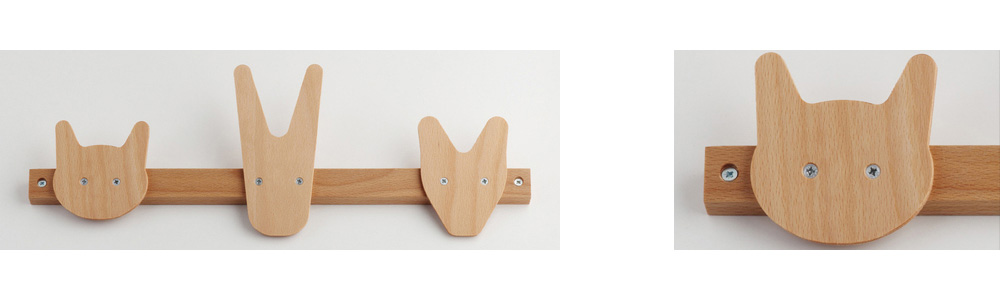 Animal Hooks by All Lovely Stuff