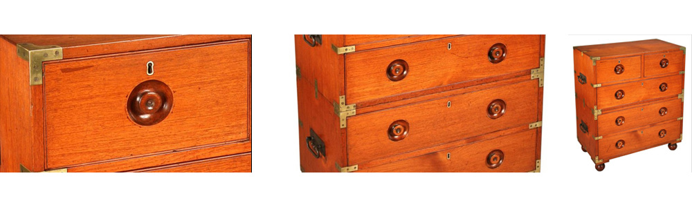 campaign chest military furniture