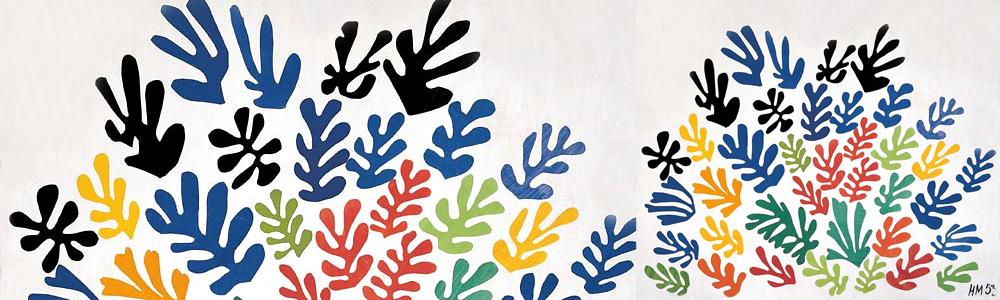 Matisse paper work cut outs gouaches découpés
